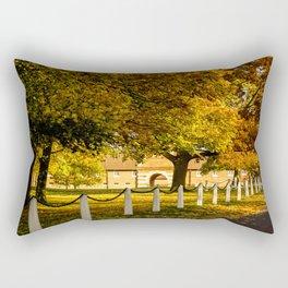 Autumn at Wiseton Stables Rectangular Pillow