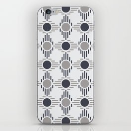 Geometric Pattern. Circles and Rhombuses iPhone Skin