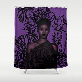 Adut Akech Shower Curtain