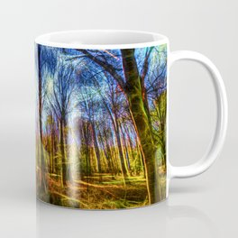Forest Mystical Art Coffee Mug