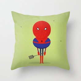 Spider man: My bug hero! Throw Pillow