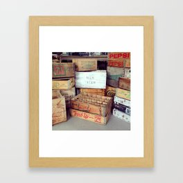 Boxed In Framed Art Print