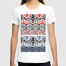 Red and Blue Tribal T-shirt