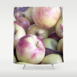 Apples To Apples Shower Curtain