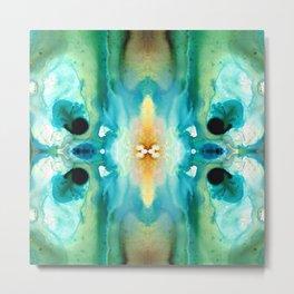 Metamorphosis Colorful Art by Sharon Cummings Metal Print