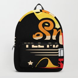 Ill Mac you smile with my cheesy puns Backpack