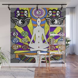 ENTER MY MIND Wall Mural