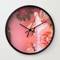 fairy Wall Clocks featuring Fairy by Shalisa Photography
