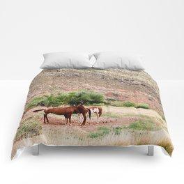 Wild Horses Comforters