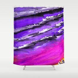 Cortez beach Shower Curtain