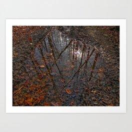 Valley Falls Leaves Art Print
