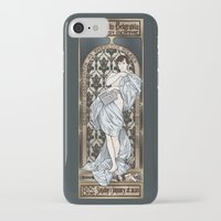 scandal iPhone & iPod Cases featuring A Scandal in Belgravia - Mucha Style by Alessia Pelonzi