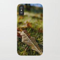 Autumn Leaf Slim Case iPhone X