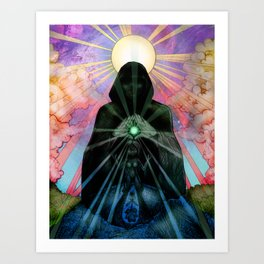 Illusion of Light Art Print