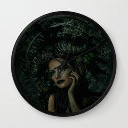 The Green Fairy Wall Clock