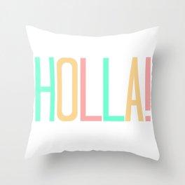 Apple Bright Scandinavian Throw Pillow