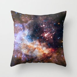 Cluster Westerlund II Throw Pillow