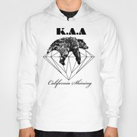 the shining Hoodies featuring California shining by Kris alan apparel