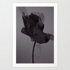 leaf nine Art Print