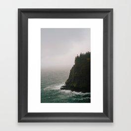 Oregon Coast: IV // Oregon Framed Art Print