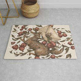 Coyote Love Letters Rug