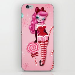 Christmas Sugar Doll iPhone Skin