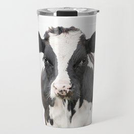 Cow Art Travel Mug