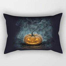 Halloween Pumpkin Rectangular Pillow