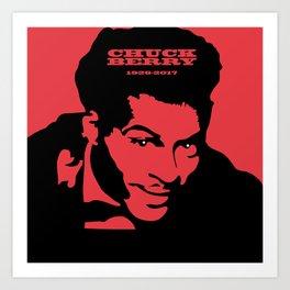 Chuck Berry Art Print