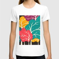 jazzberry T-shirts featuring Happy Forest by Danny Ivan