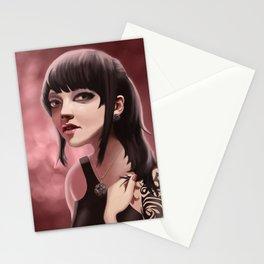 Pink Klockwerks Maiden Stationery Cards