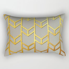 Cubes Of Arrows Rectangular Pillow
