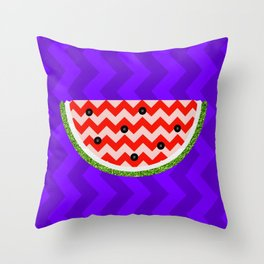 Pop Watermelon Throw Pillow