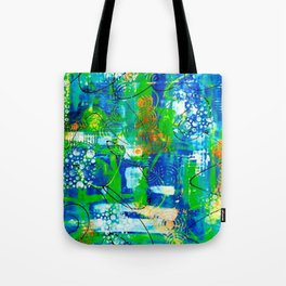 All A Whirl Tote Bag