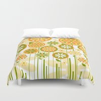 sunshine Duvet Covers featuring Sunshine by Shelly Bremmer