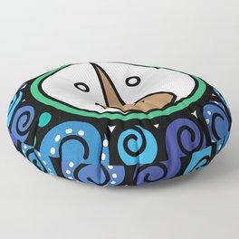 Blue Child - Niño Azul Floor Pillow
