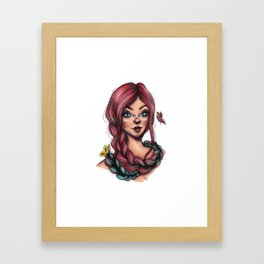Tangled Butterflies Framed Art Print