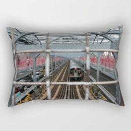 J Train - Williamsburg Bridge Rectangular Pillow