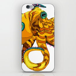 Blue-Ringed Octopus iPhone Skin