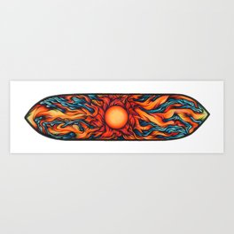 Sanctification Cometh (Horizontal Deck) Art Print