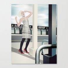 Diesel Street Canvas Print