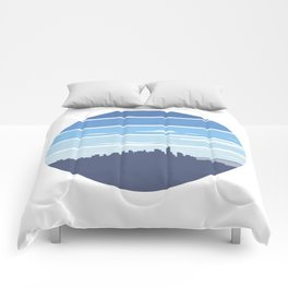New York in the Spring Comforters