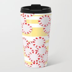moves in red and yellow parts Metal Travel Mug
