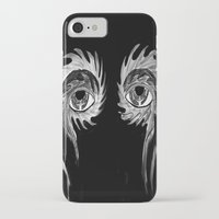 tool iPhone & iPod Cases featuring Tool eyes by SnowVampire