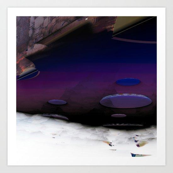 Sky Lie Art Print