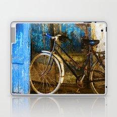 Blue Bicycle Laptop & iPad Skin