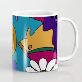 """Before the Celebration"" bold, colorful doodle art Coffee Mug"