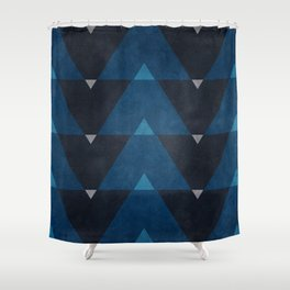 Greece Arrow Hues Shower Curtain