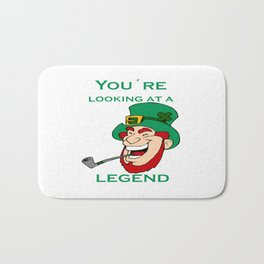 You're Looking At A Legend St Patricks Day Bath Mat