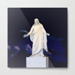 LDS Christus Metal Print